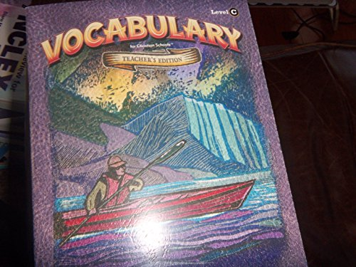 9781591661825: Vocabulary Level C Teacher's Edition