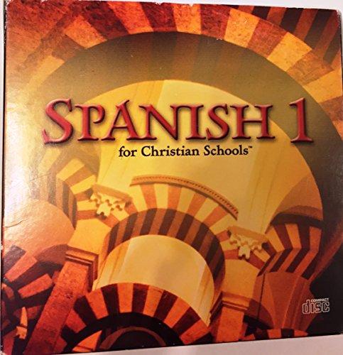 BJU Spanish 1 Audio CD set (Spanish