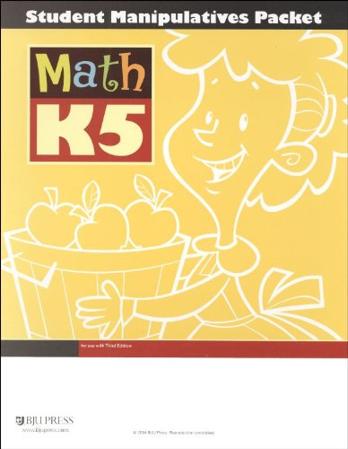 9781591662648: Math K5 Student Manipulatives Packet, Bob Jones