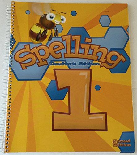 Spelling 1, Second Edition (Teacher's Edition): Michelle Rosier