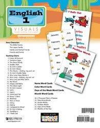 English 1 Visual Homeschool Flip Chart: BJU PRESS