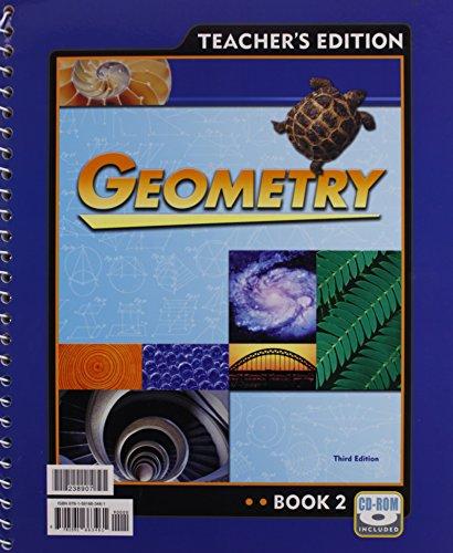 Geometry Teacher's Edition: Ron Tagliapietra