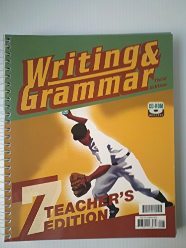 9781591663676: Writing & Grammar, Grade 7 (Teacher's Edition)