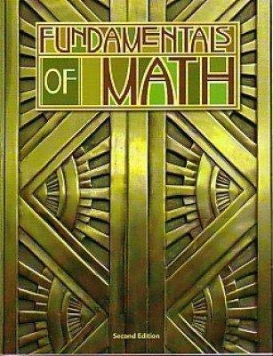 9781591663751: Fundamentals of Math Student Text