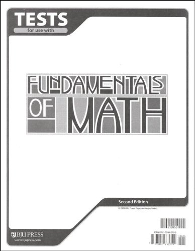 9781591663799: Fundamentals of Math Testpack 2nd Edition