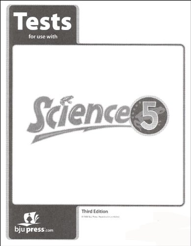 9781591664703: Tests for Use with BJU Science 5