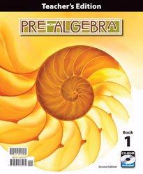 9781591665472: Pre-Algebra Teacher's Edition with CD (2nd ed., 2 vols.)