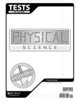 9781591665557: Physical Science Test Pack Answer Key Grade 9 4th Edition