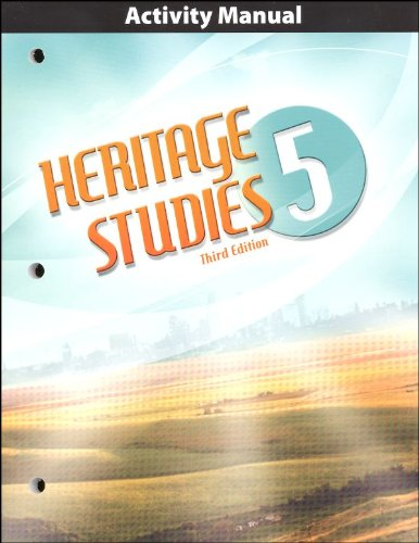 9781591665717: Heritage Studies Grade 5 Student Activities Manual 3rd Edition