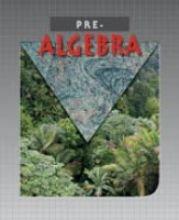 9781591666394: Pre-Algebra for Christian Schools