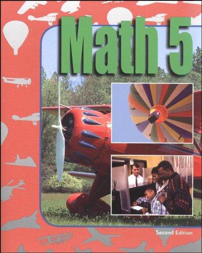 9781591666455: Math 5 for Christian Schools