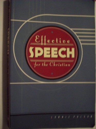 9781591666615: Effective Speech for the Christian