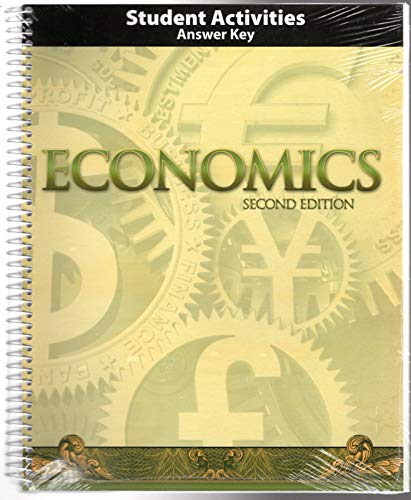 9781591667131: Economics Grade 12 Teacher Activities Manual 2nd Edition