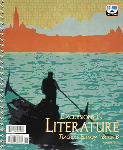 Excursions In Literature, Third Edition: Teacher's Editions, Book A And Book B-Two Volume ...