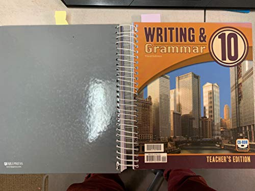 9781591667582: Writing and Grammar 10 (3rd Edition) Third Edition ISBN 978-159166-7582