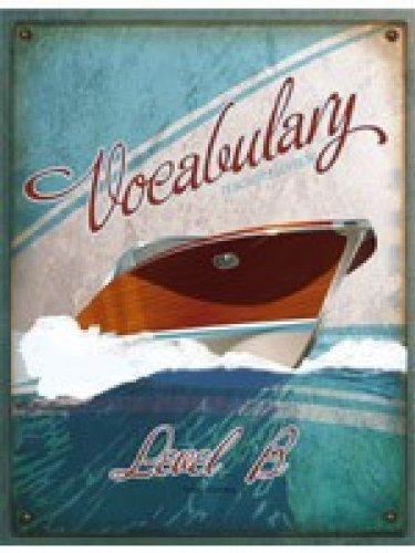 Vocabulary: Level B Teachers Edition 3rd Edition