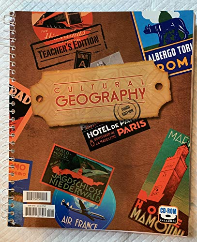 9781591667797: Cultural Geography Teacher's Edition and CD 3rd Edition