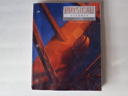 Physical Science Student Lab Manual