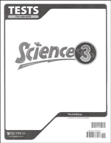 9781591668428: Science 3: Tests, 3rd Edition