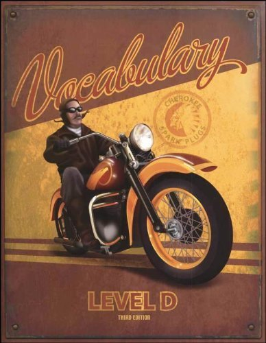Vocabulary Level D Student Worktext 3rd Edition: 257808