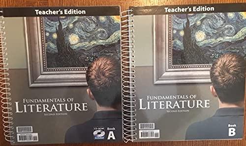 9781591668893: Fundamentals of Literature Teacher's Edition