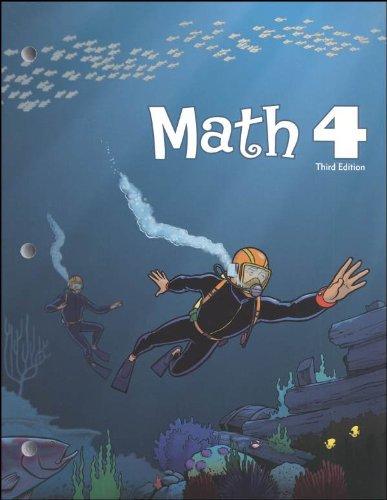 9781591668923: Math 4 Student Worktext