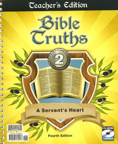 9781591669586: Bible Truths Teacher Book Grd 4th Edition with CD