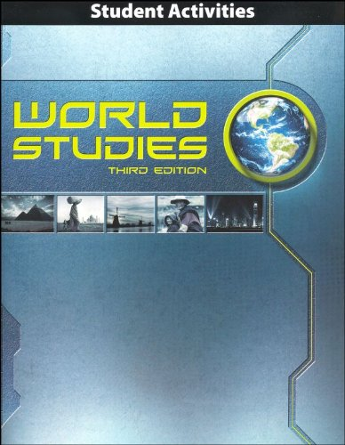9781591669807: World Studies Student Activities Manual 3rd Edition