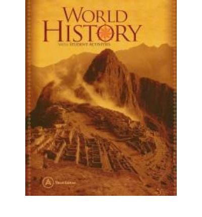 World History with Student Activities, Book B,: Fisher, David A.