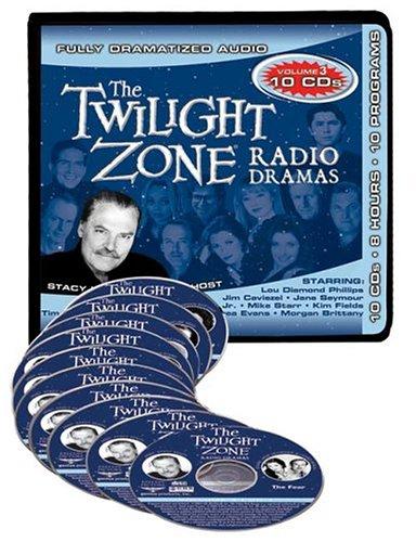 Twilight Zone Radio Dramas, Vol. 3 (10 CD Set): Serling, Rod