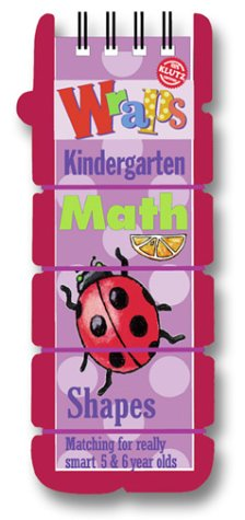 9781591740384: Wraps Math: Kindergarten : Shapes : Matching for Really Smart 5 & 6 Year Olds