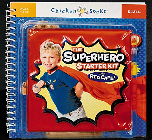 9781591742487: The Superhero Starter Kit (Klutz Chicken Socks)
