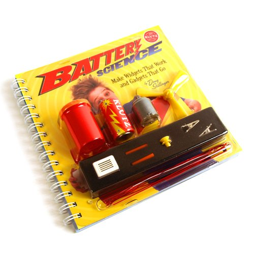 9781591742517: Klutz Battery Science Make Widgets That Work and Gadgets That Go