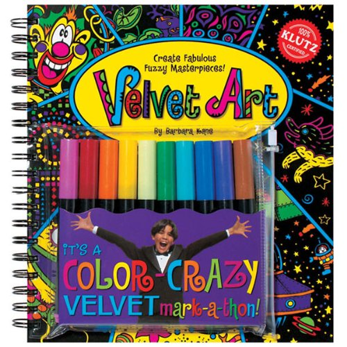 9781591742593: Velvet Art: Create Fabulous Fuzzy Masterpieces (Klutz)