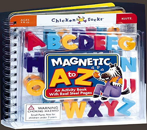 Chicken Socks Magnetic A to Z Activity Book: Editors of Klutz