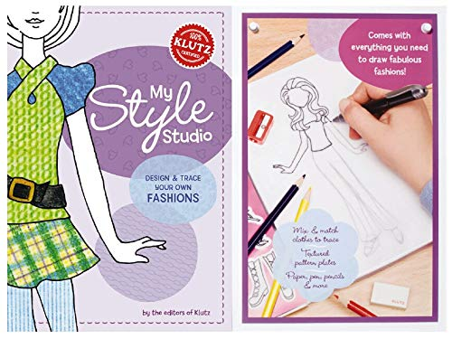 9781591745679: My Style Studio: Design & Trace Your Own Fashions (Klutz)