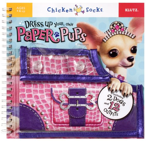 9781591745761: Dress-Up Your Own Paper Pups (Klutz Chicken Socks)