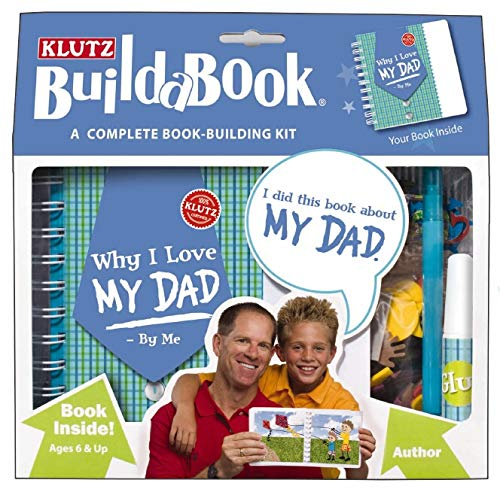 9781591746560: Klutz Build-A-Book: Why I Love My Dad (Klutz Build-A-Books)