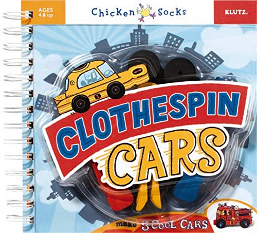 9781591746645: Clothespin Cars (Chicken Socks)
