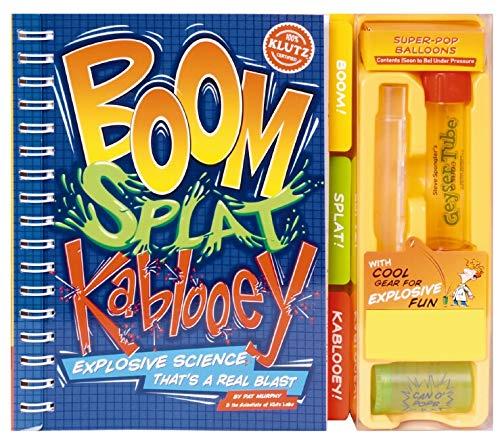 9781591746775: Boom, Splat, Kablooey: Safe Science That's a Real Blast (Klutz)