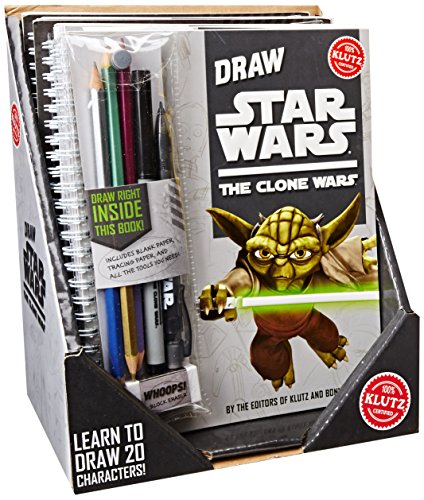 Klutz How To Draw Star Wars x6 Pk (Hardcover): Not Known