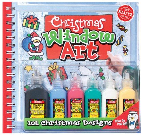9781591747277: Christmas Window Art (Klutz: Window Art)