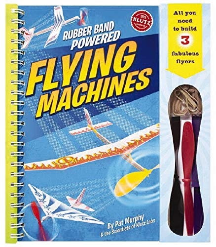 9781591747406: Rubber-Band-Powered Flying Machines pack 6 (Klutz)