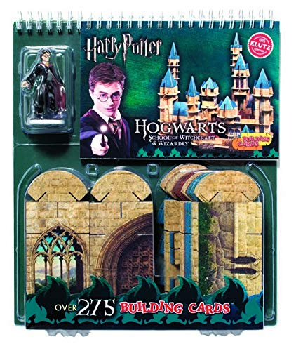 9781591747727: Harry Potter: Hogwarts Building Cards: School of Witchcraft & Wizardry