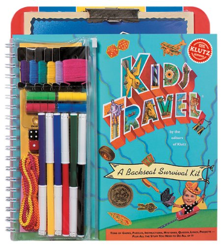 9781591748052: Kids Travel: A Backseat Survival Kit [With Dice and String and Pouch and Marker]