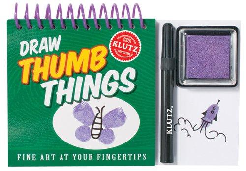 9781591748267: Draw Thumb Things (Klutz)