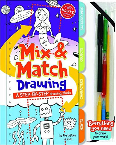 9781591749110: Mix and Match Drawing: A step-by-step drawing studio