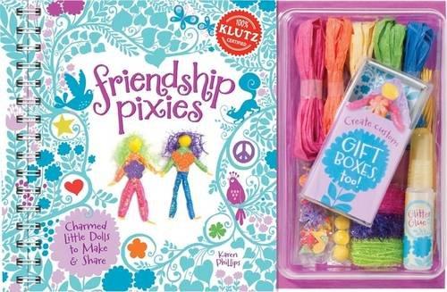 Klutz: Friendship Pixies 6 Pack (Paperback): Editors of Klutz
