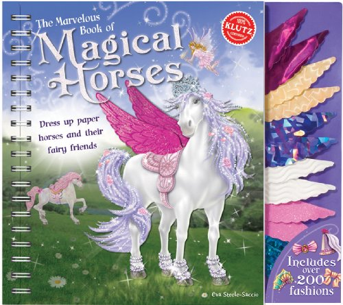 9781591749264: The Marvelous Book of Magical Horses (Klutz)