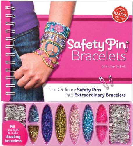 9781591749325: Safety Pin Bracelets (Klutz)